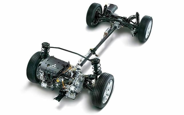 Замена передних рычагов Mitsubishi Outlander I 2003 - 2008